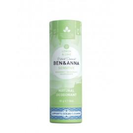 Ben & Anna - Deodorante in Stick - Lemon e Lime