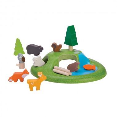 Plan Toys - Set Animali