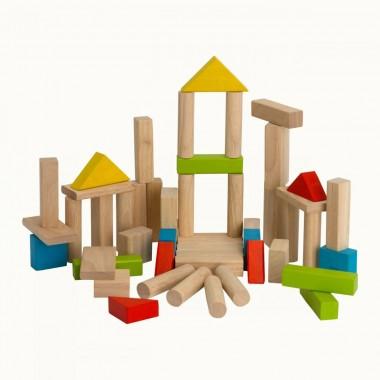 Plan Toys - 50 Blocks